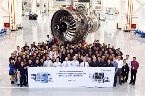 roll royce seletar rolls royce delivers the first trent aero engine produced