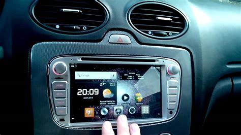магнитола на android в штатное место ford focus 2 youtube
