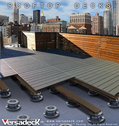 top deck systems commercial decking by versadeck thick safe deck