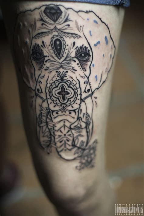 venezuela tattoo elefante caracas 2012 sesion 1 tattoos
