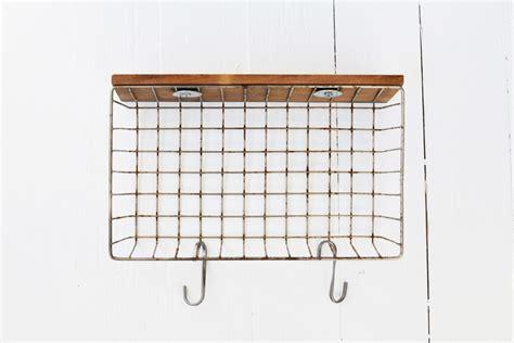 diy wire basket shelf
