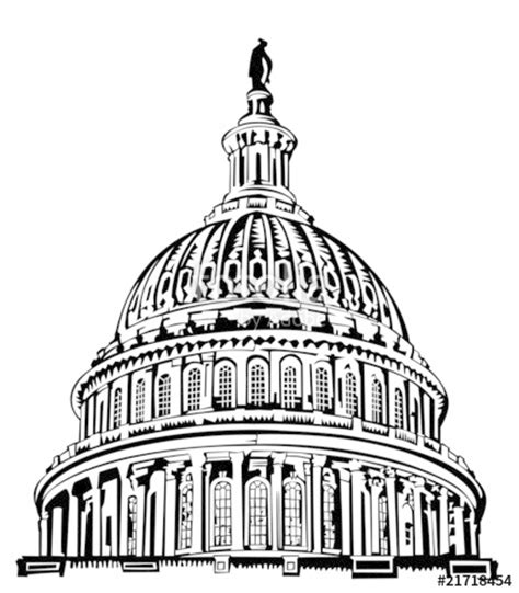 united states capitol building coloring page quot u s capitol dome quot stock image and royalty free vector