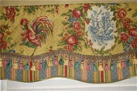 french country curtains waverly custom made french country valance waverly fabrics