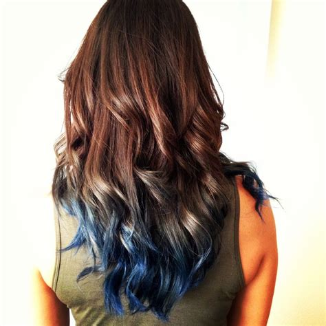 perfect combination for brown hair 17 best images about new hair blue hair on pinterest