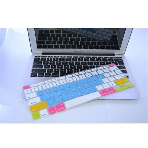 color silicone keyboard cover protector skin for macbook 12 inch new macbook 2015