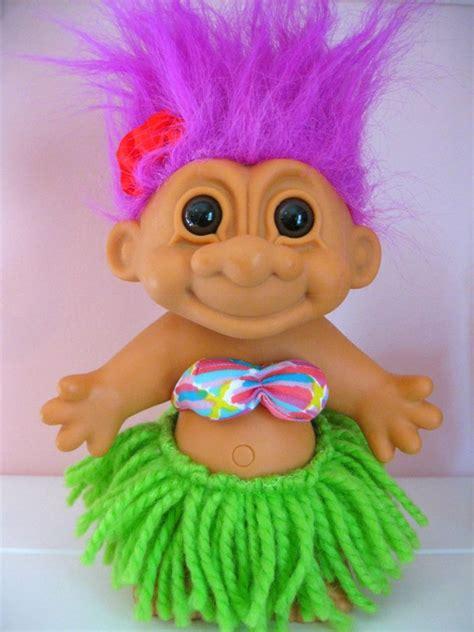 troll doll hawaiian troll doll by russ