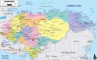 honduras south america map detailed clear large map of honduras ezilon maps