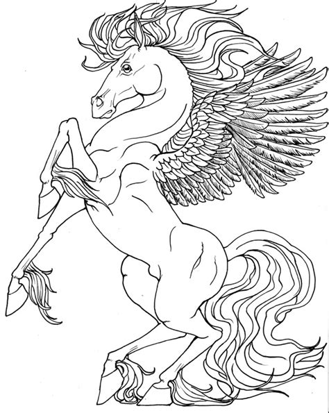 coloring pages of unicorns and pegasus pegasus unicorn coloring pages more catholic school