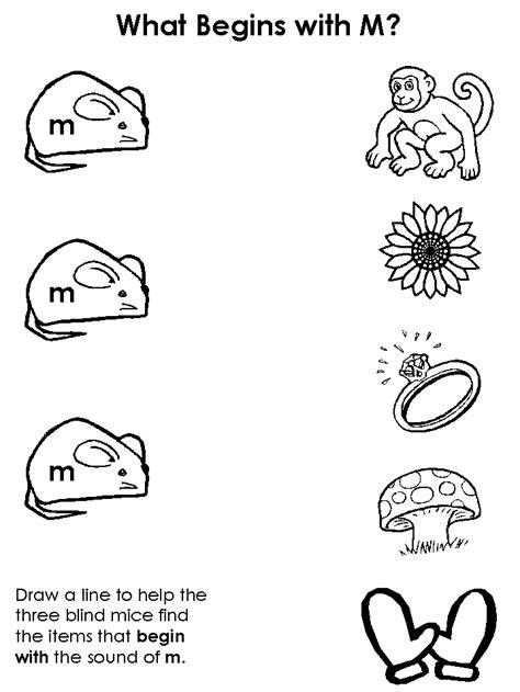 kindergarten coloring sheets letter m free kindergarten worksheets letter m letter m