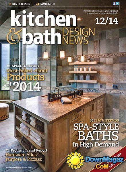 kitchen design news kitchen bath design news december 2014 187 download pdf