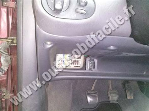 on board diagnostic system 2000 buick lesabre on board diagnostic system obd2 connector location in ford focus 1998 2004 outils obd facile