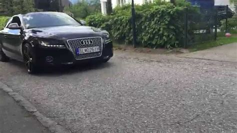 Audi A5 3 0 Tdi Sound Verbessern by Audi A5 3 0 Tdi Exhaust Sound Youtube