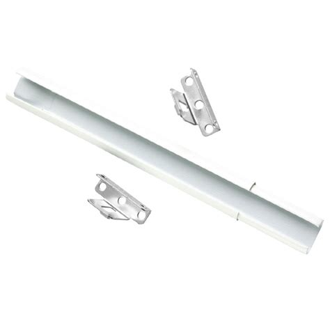 Sash Rod Curtains Shop Project Source 11 In To 20 In Metal Sash Curtain Rod At Lowes