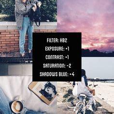 tutorial edit foto vscocam vscocam filter hb2 exposure 1 contrast 1 saturation