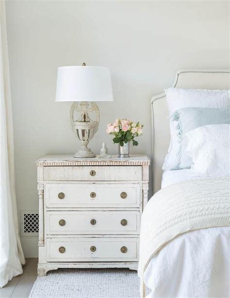 white and off white bedrooms off white bedroom with blue ruffled shams transitional