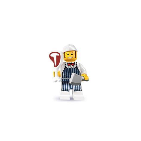 Lego Minifigures Series 6 8827 Butcher Minifigure Seri 6 14 Misp lego minifig series 6 butcher 8827