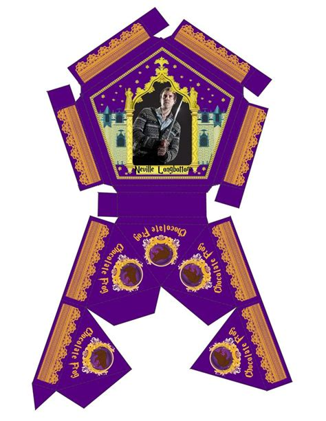 chocolate frog box template printable 17 best ideas about chocolate frog on harry