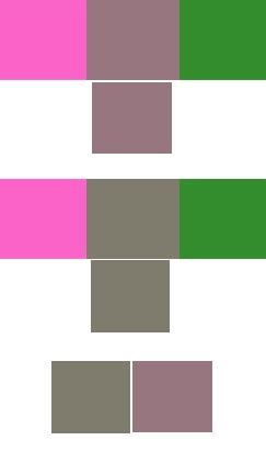 pink and green make what color what is the mixed colour of pink and green quora