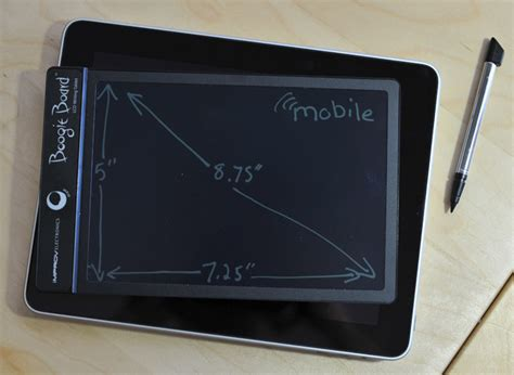 boogie board lcd tablet review mobile magazine