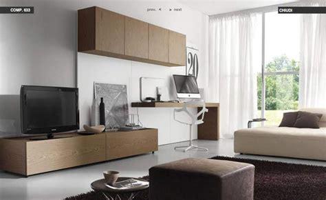study table in living room dise 241 o de salas modernas