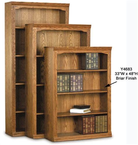 Modern Espresso Desk Traditional Real Oak Bookcases