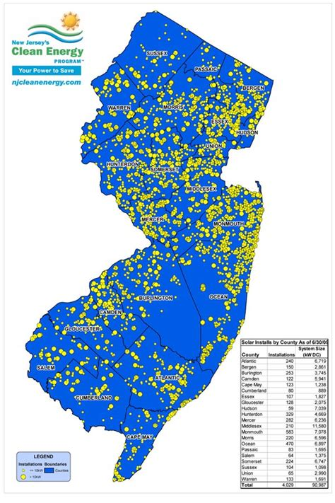 superfund site map superfund sites in new jersey