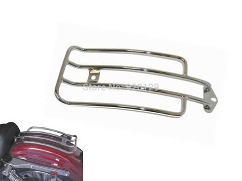Motorcycle parts Chrome Steel Solo Luggage Rear Fender