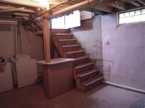 building basement stairs house stair landing adventures in remodeling
