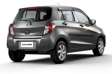 maruti suzuki selerio maruti suzuki celerio limited edition launched in india at