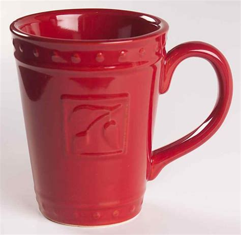 signature housewares 3 piece sorrento ruby red ceramic signature sorrento ruby mug 6174094 ebay