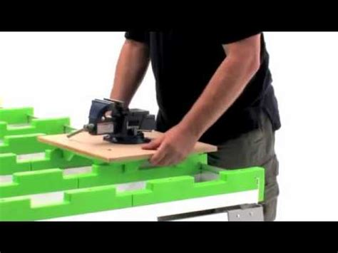 Benchmark Portable Work Table by Sawhorse The Ultimate Folding Sawhorse Shopdog How To