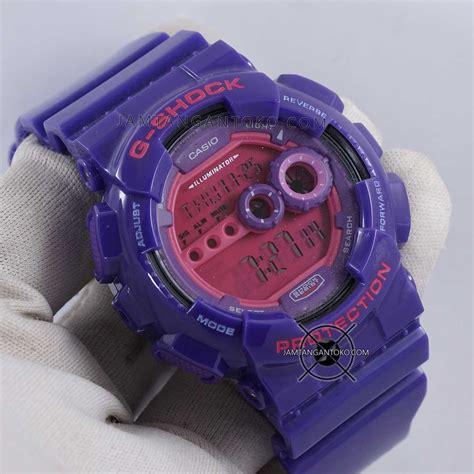 Jam Tangan Original Skmei Baby G casio g shock jam tangan pria ungu rubber ga 400a