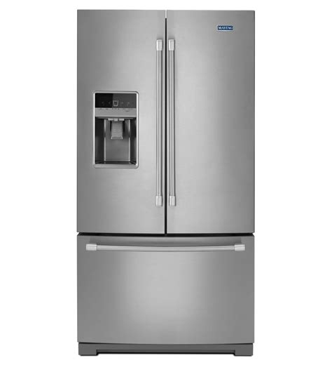 maytag 174 36 inch wide french door refrigerator with