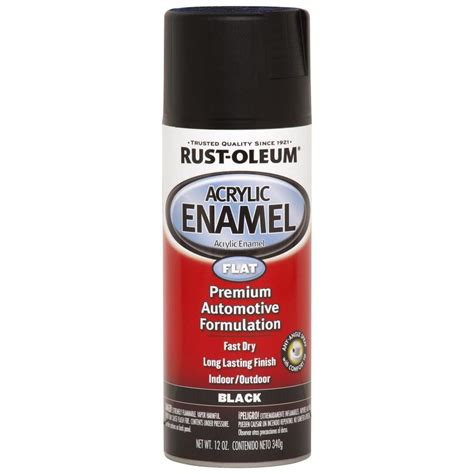 acrylic paint heat resistant shop rust oleum automotive black fade resistant enamel