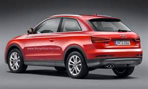 Audi Q3 Coupe Q3 Renderings Of A Two Door Audi Q3 Coupe Suv
