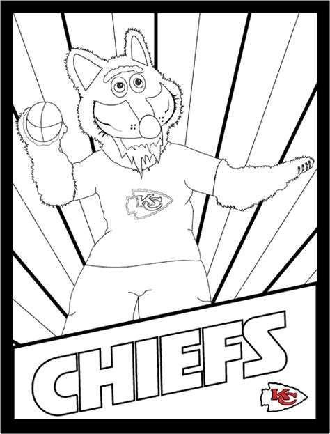 Kansas City Chiefs Coloring Pages free coloring pages