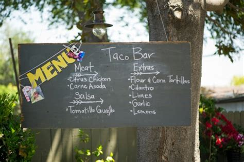 backyard party menu menu idea for outdoor party party inspiration pinterest
