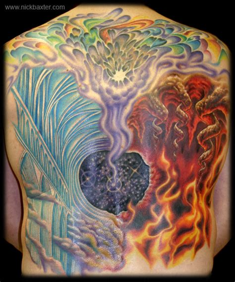 heaven and hell tattoo gerry s heaven and hell by nick baxter tattoos