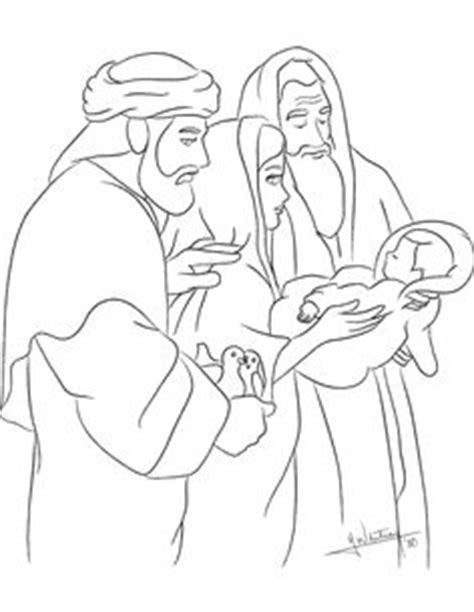 baby jesus presented at the temple coloring pages 1000 images about the presentation of the child jesus in