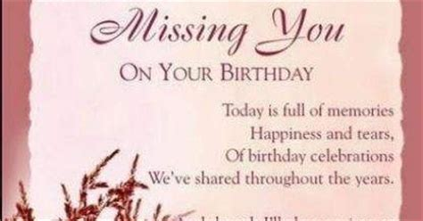 Happy Birthday Rip Quotes When You Can T Find The Words Birthday In Heaven