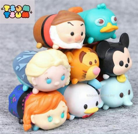Figure Tsum Tsum Seri Set disney tsum tsum with elsa figu end 5 10 2017 8 15 pm