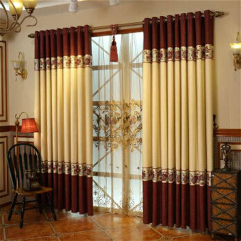 windows curtains design cotton and linen materials luxury window curtains designs