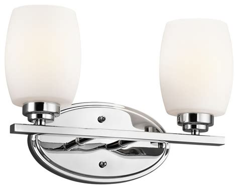 Transitional Bathroom Lighting Eileen 2 Light Bath Fixture Transitional Bathroom Vanity Lighting By Ls Expo