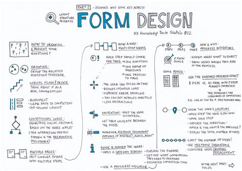 design form one form design part 2 layout structure progress ux