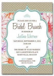 bridal shower brunch invitation template by scripturewallart
