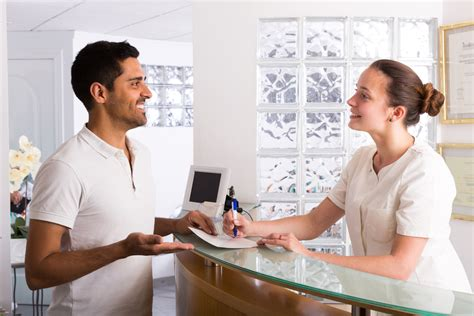 front desk medical receptionist 5 ways to renovate your medical practice