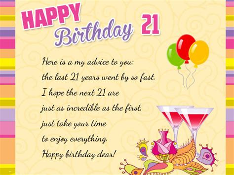 Happy 21st Birthday Wishes To My Happy 21st Birthday Wishes Messages And Cards 9 Happy