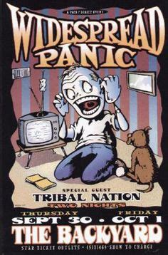 widespread panic live from the backyard live music capital of the world on pinterest texas