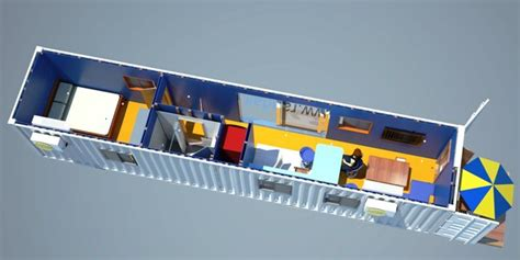 Shipping Container Home Interiors by Design Cad Works Home