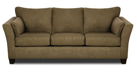 sofa couch set olive microfiber modern casual sofa loveseat set w